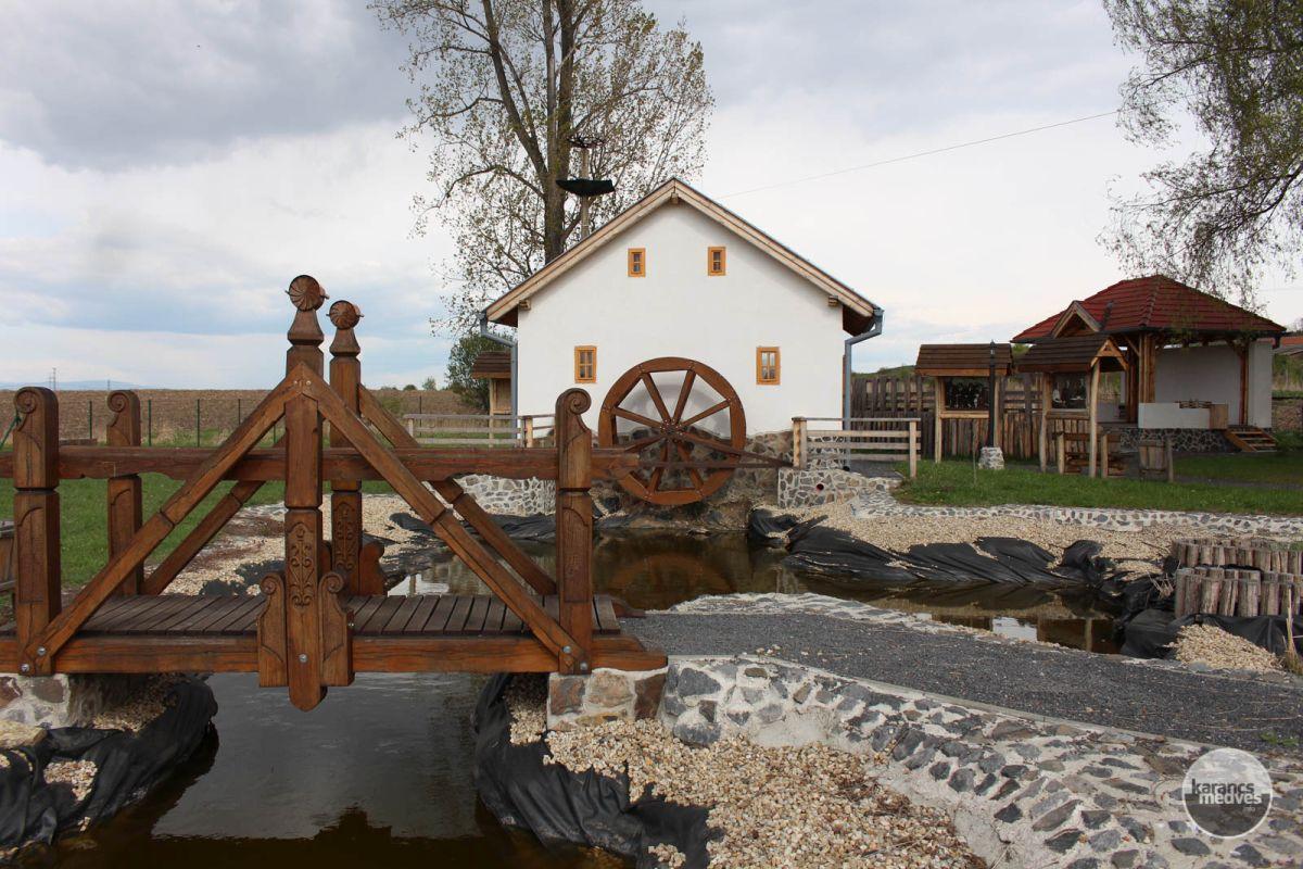 A kalondai kiállítóhely (karancs-medves.info fotó: Kéri István)