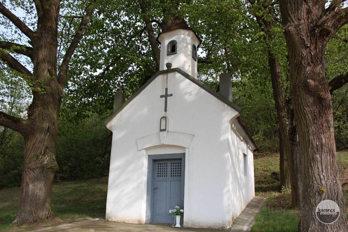 A rimóci Fogadalmi kápolna (karancs-medves.info fotó: Kéri István)