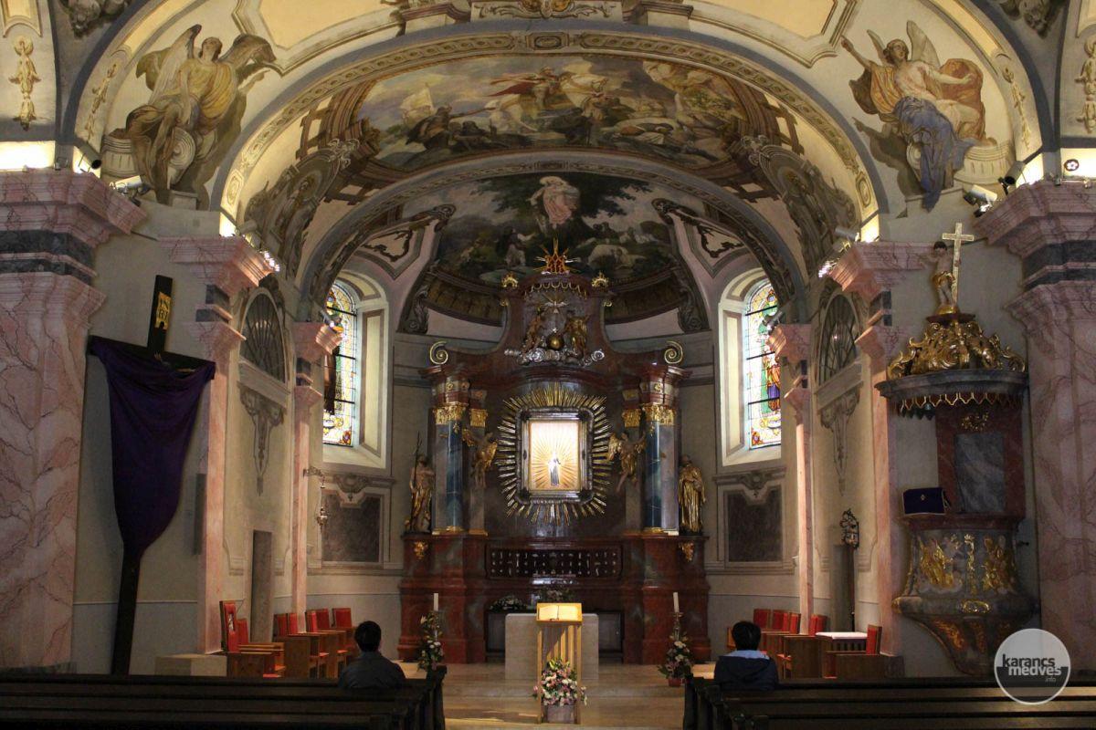 A Szentkúti Nagyboldogasszony Bazilika (karancs-medves.info fotó: Kéri István)