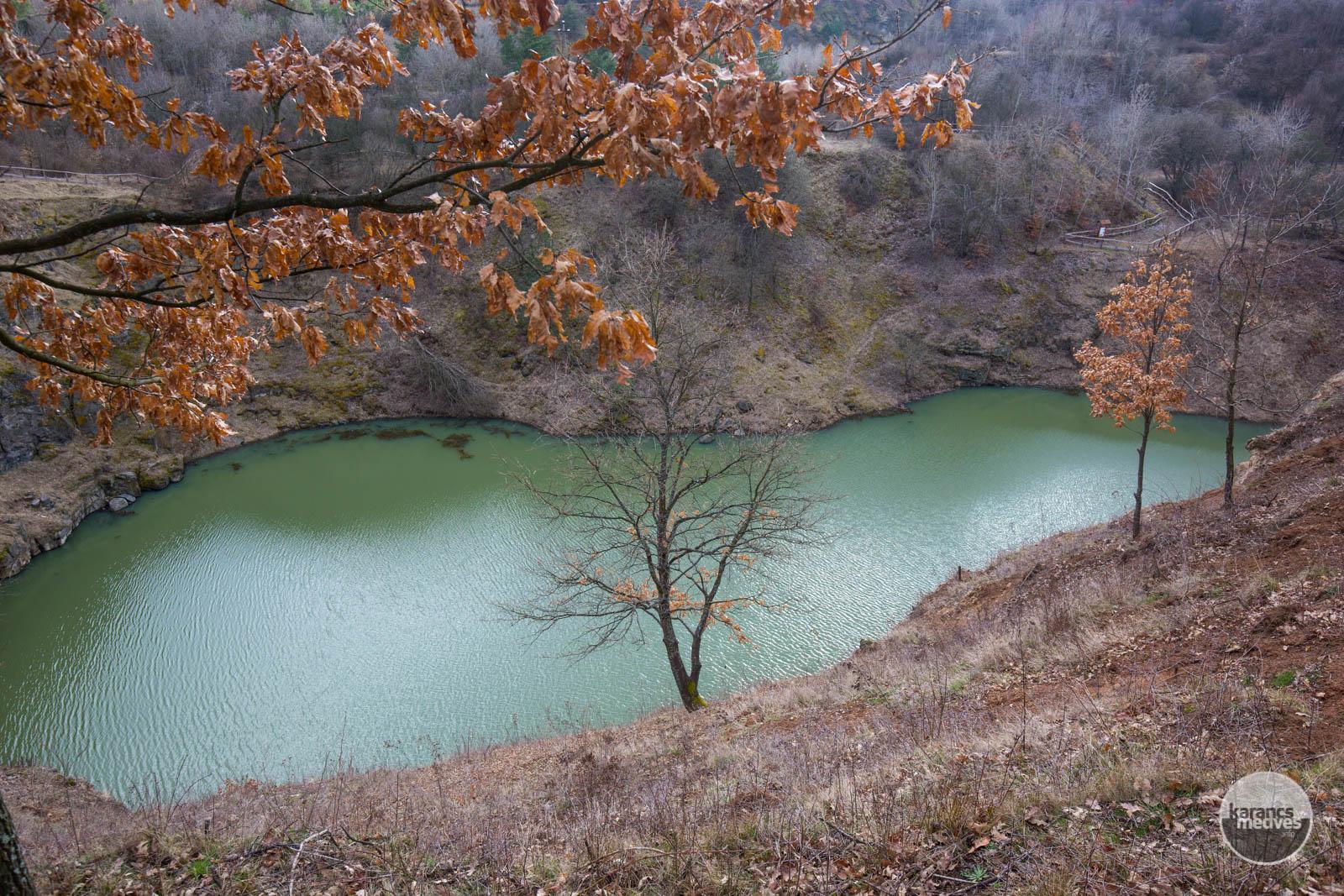 Az eresztvényi Közép-bánya-tó (karancs-medves.info fotó: Drexler Szilárd)