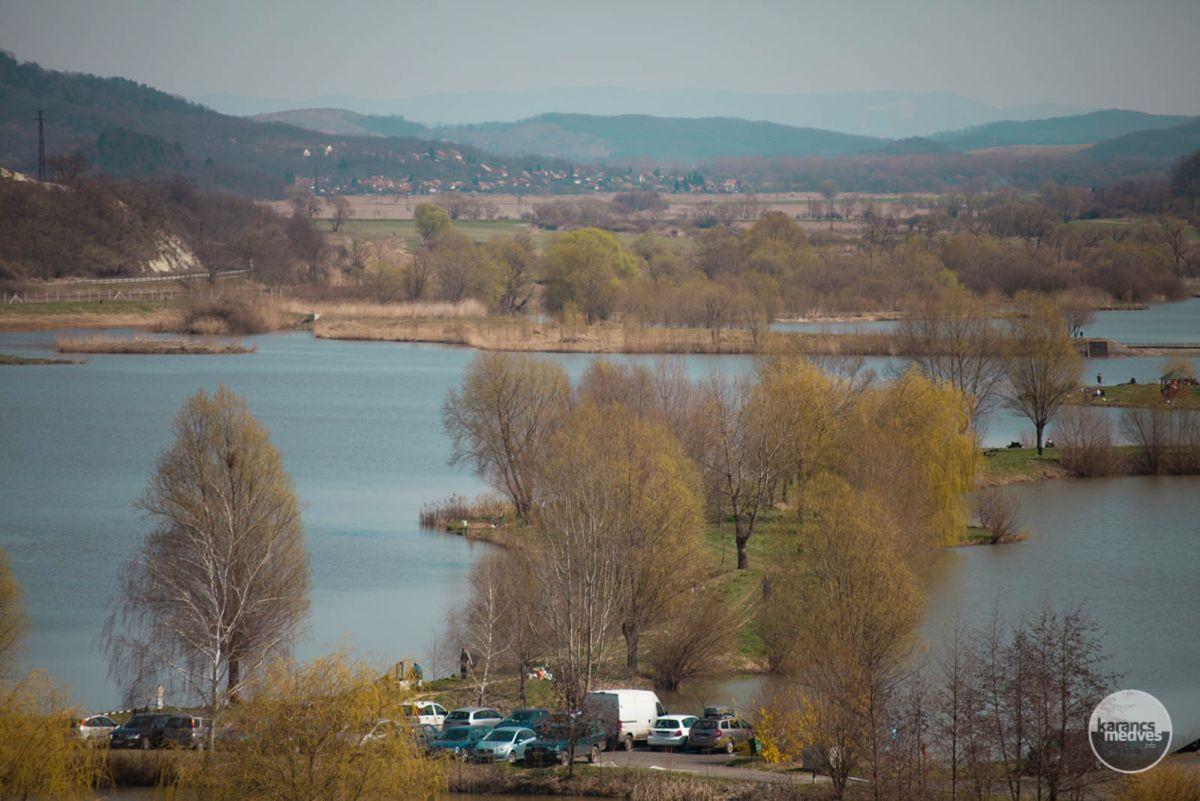 A Maconkai víztározó és tórendszere (karancs-medves.info fotó: Nógrádikumok)