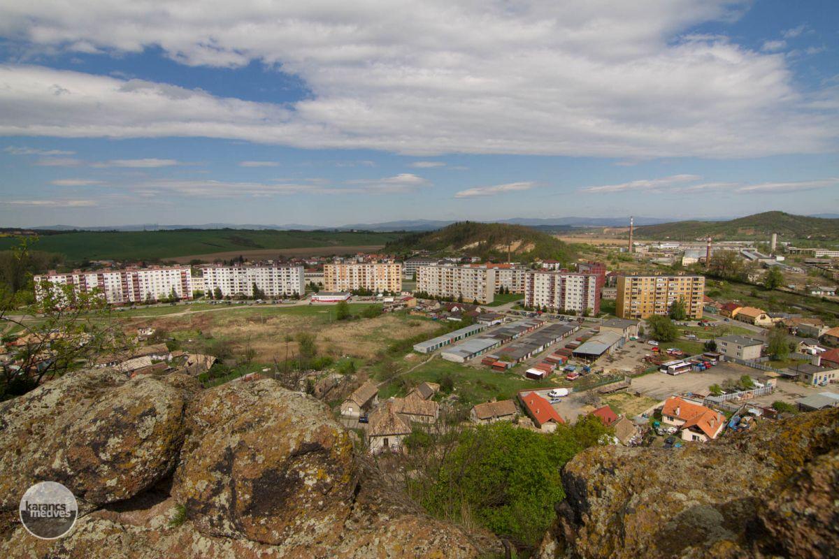 Fülek városa napjainkban (karancs-medves.info fotó: Drexler Szilárd)