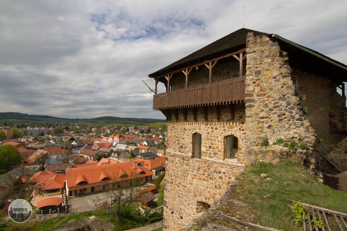 Fülek vára (karancs-medves.info fotó: Drexler Szilárd)