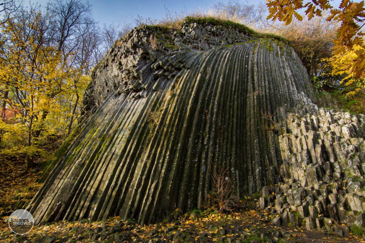 Kiemelt fotó: A somoskői bazaltömlés (karancs-medves.info fotó: Drexler Szilárd)
