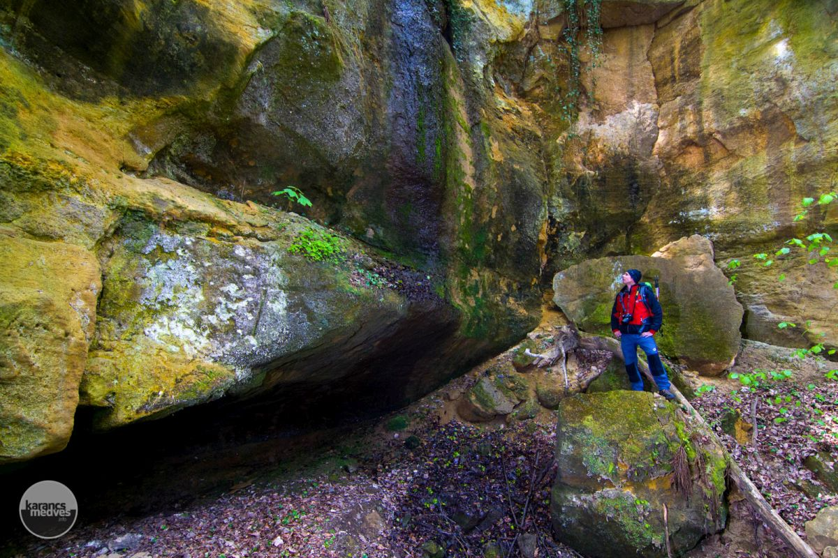 Kiemelt fotó: Hátráló erózió, Sátorosbánya (karancs-medves.info fotó: Drexler Szilárd)