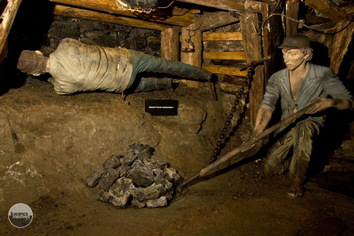 Kiemelt fotó: A látogatók testközelből ismerhetik meg az egykori bányát (karancs-medves.info fotó: Drexler Szilárd)