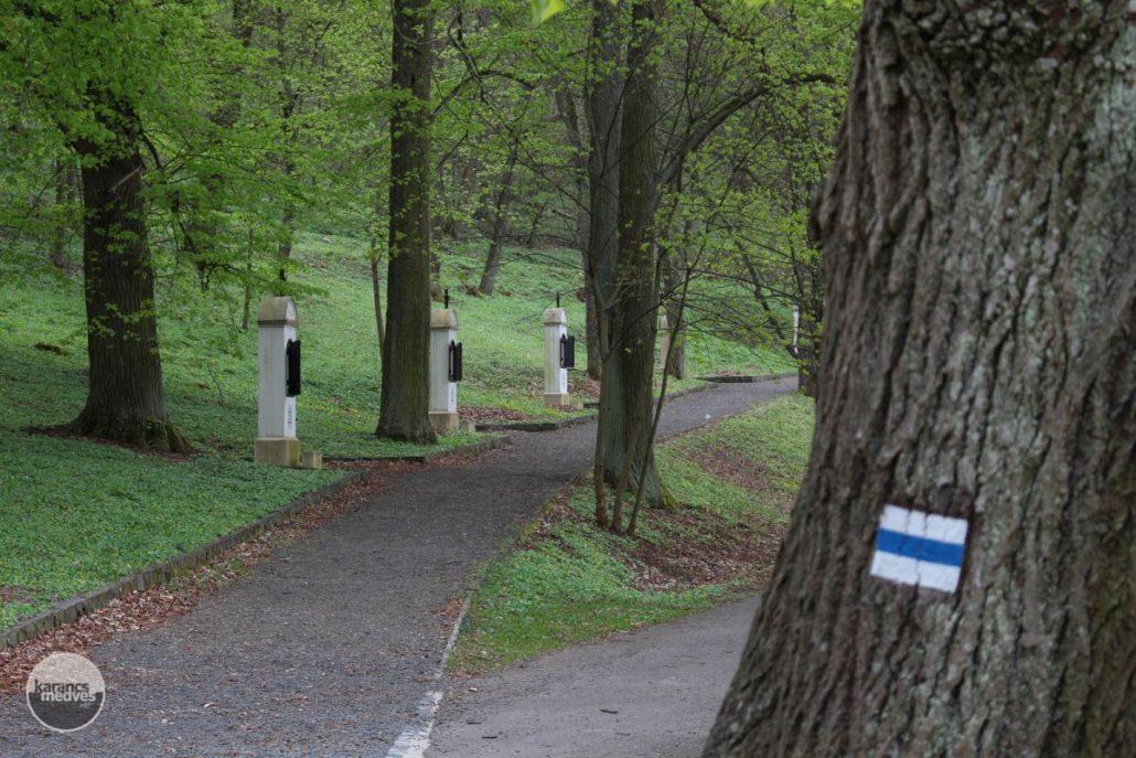 A Nemzeti Kegyhely keresztútja (karancs-medves.info fotó: Kéri István)