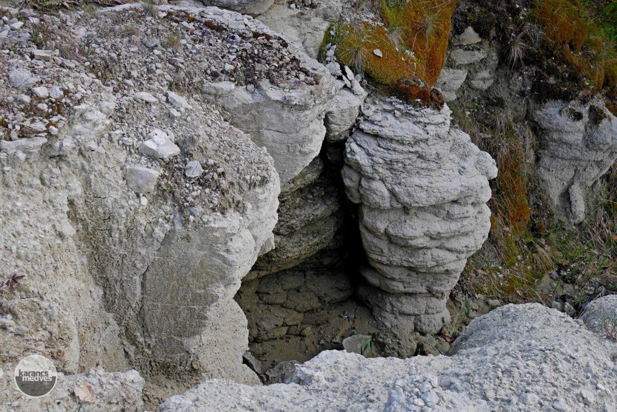 Kiemelt fotó: A Fehérszéken riolittufa borítja a felszínt (karancs-medves.info fotó: Kővári József)