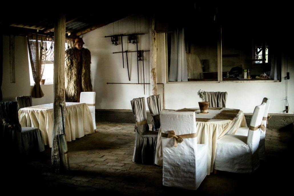 A Faluhely Major öt asztallal várja vendégeit (fotó: Faluhely Major)