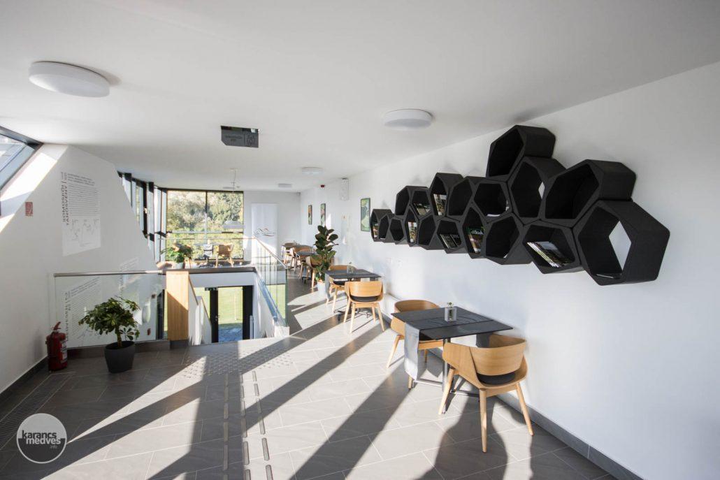 karancs-medves.info fotó: A Somoskői Látogatóközpont új épületszárnya