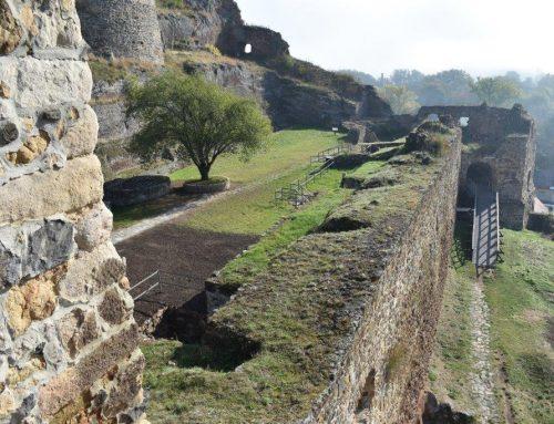 Három kazamata nyílt meg a látogatók előtt a füleki várban